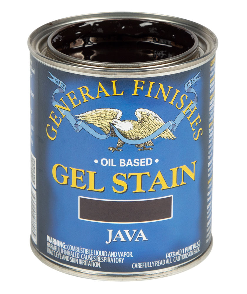 Java Gel Stain 1/2 Pint