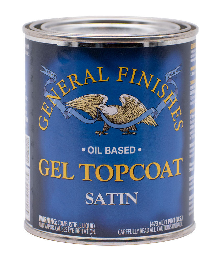 Satin Gel Top Coat