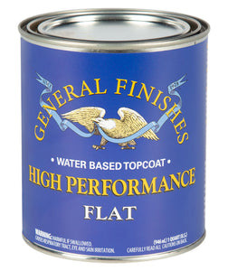 High Performance Flat Pint Top Coat