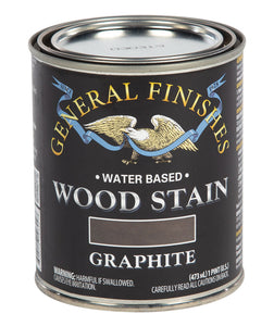 Graphite Water Based Wood Stain