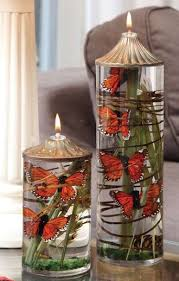 Monarch Butterfly Large Cylinder