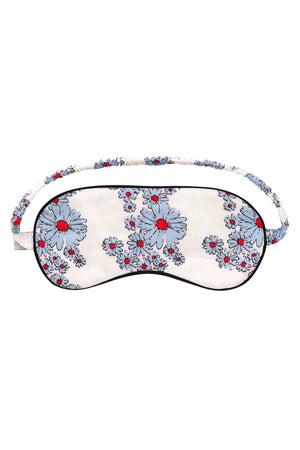 Blossom Cornflower Cotton Eye Mask