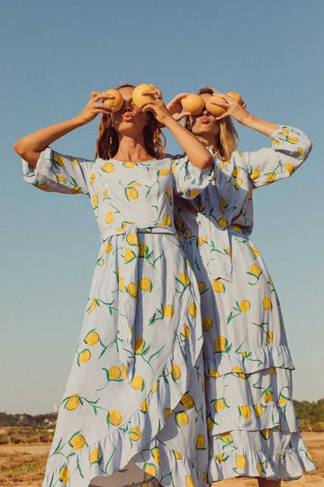 CALAMITY DRESS | Lemon Print