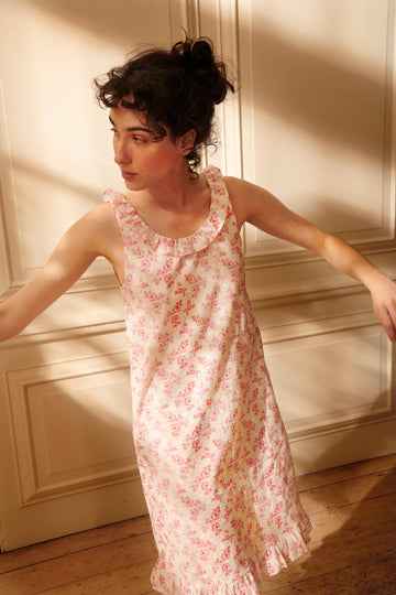 Country Vine Thebe Nightie | Cotton Sleepwear | YOLKE