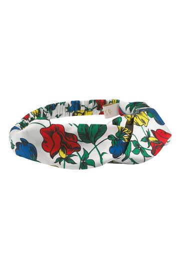 Dakota Meadow Silk Headband | Silk Accessories | YOLKE