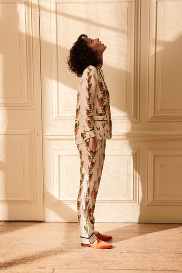 Gainsborough Suit Foxglove Print