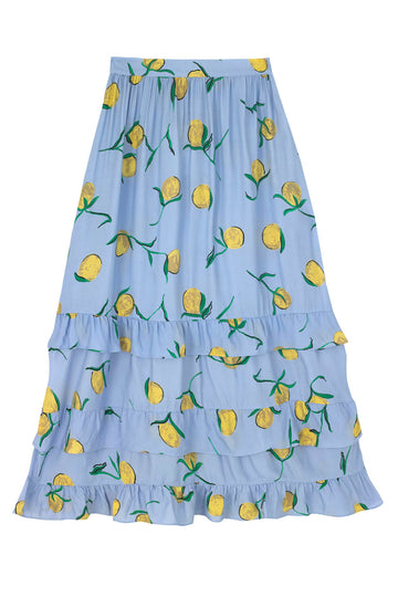 Lemon Print Jezabel Skirt