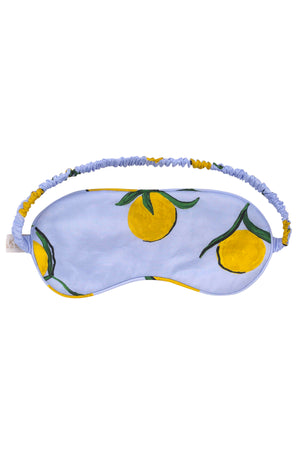Lemon Print Cotton Eye Mask