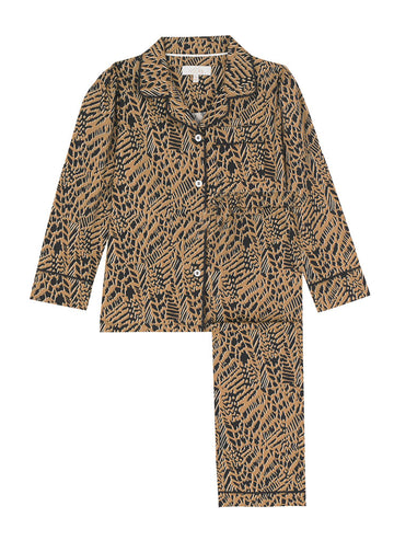 LiTTLE Animal Print Cotton Pyjamas