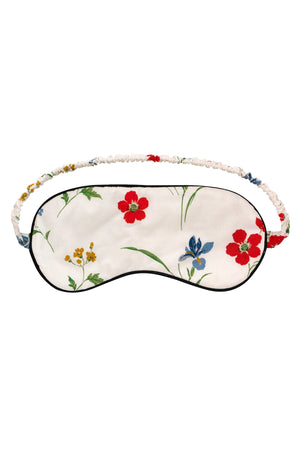 Cotton Eye mask & Pouch Meadow Flower