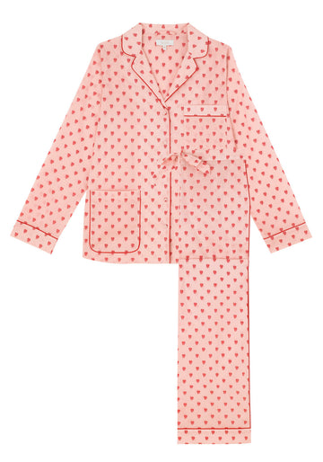 Queen of Hearts Cotton Pyjama Set