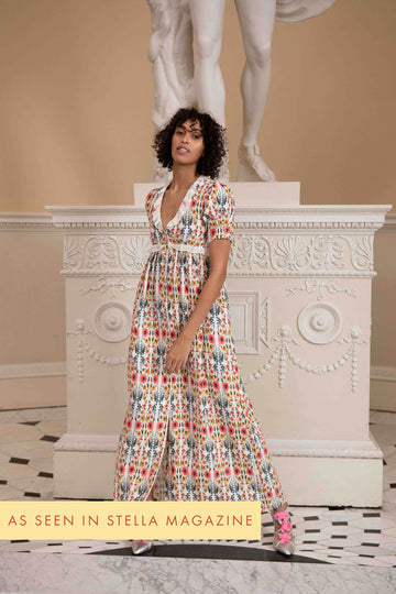 Valentina Dress Wildflower Print