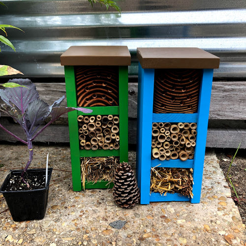 Mason Bee Hotels, Hand-crafted Wood