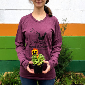 Roots and Shoots Longsleeve T-Shirt, unisex, s - xl