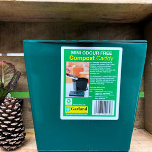 Odor-Free Kitchen Compost Caddy