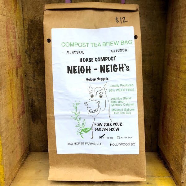 R&D Horse Farms, Neigh-Neigh's Compost Tea Brew Bag