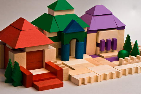 DABO House Blocks 140 pieces