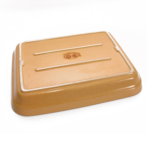 Stoneware Casserole Pan, Large Rectangle