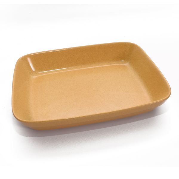 Stoneware Casserole Pan, Medium Rectangle