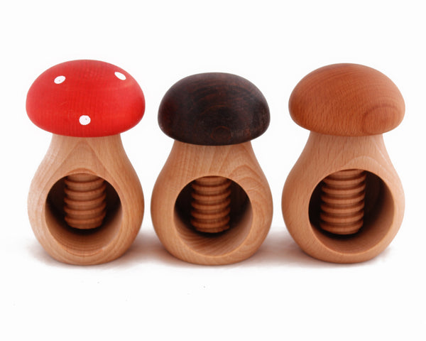 FACTORY SECOND Mushroom Nut Cracker