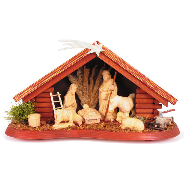 Silent Night - Handmade Wood Nativity Set