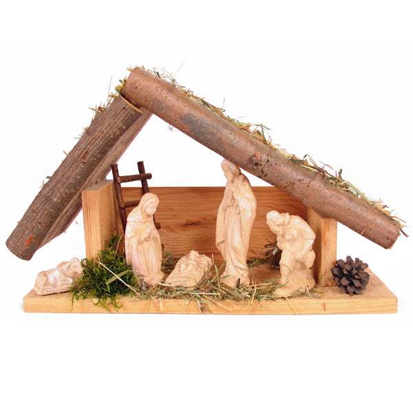 Merry - Handmade Wood Nativity Set