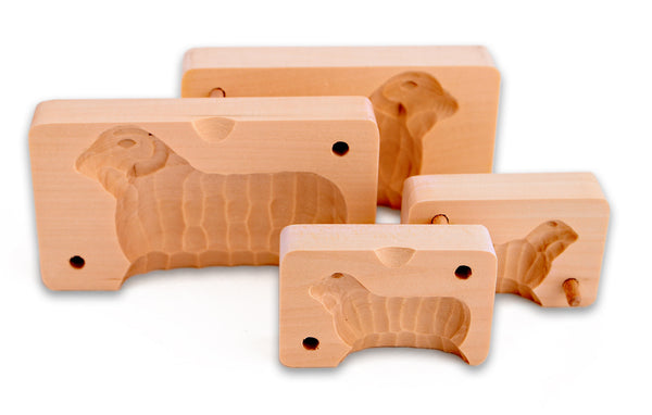 Wood Butter Mold - Lamb & Sheep