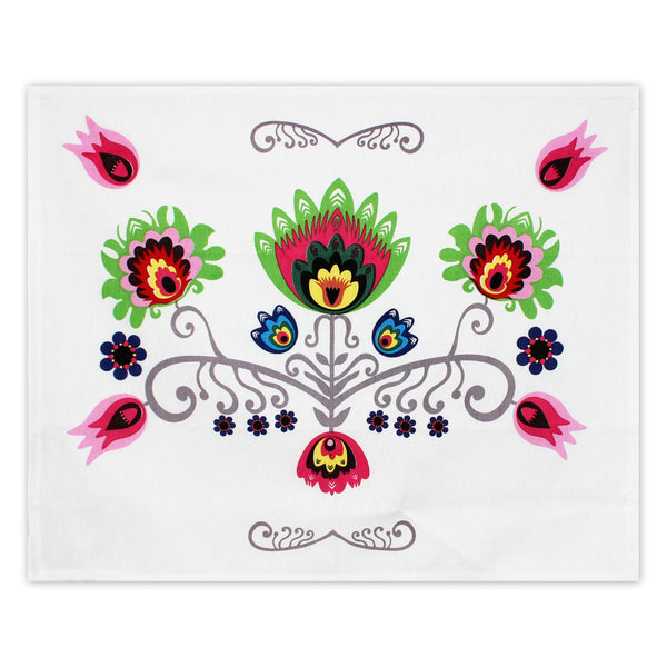 Polish Folk Art Dish Towels