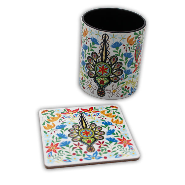 Parzenica Folk Art Coasters