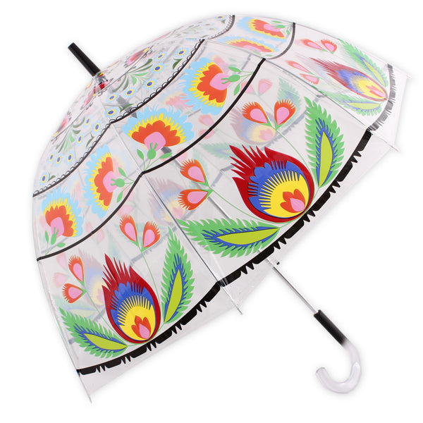 Lowicz Folk Art Umbrella, Bubble