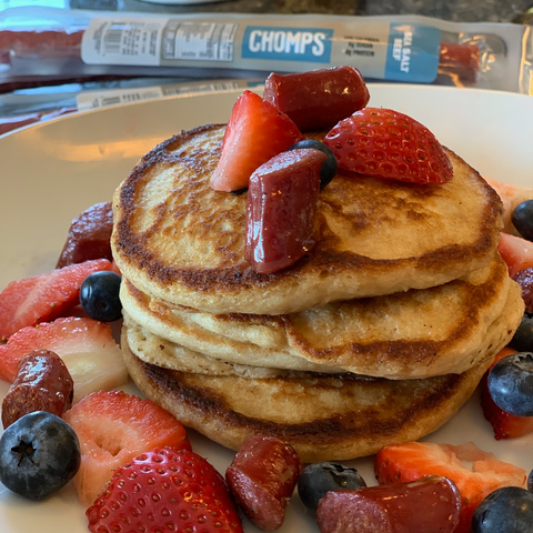 CHOMPS Paleo Power Pancakes
