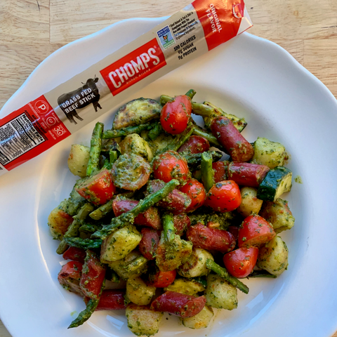Low Carb Cauliflower Gnocchi with CHOMPS