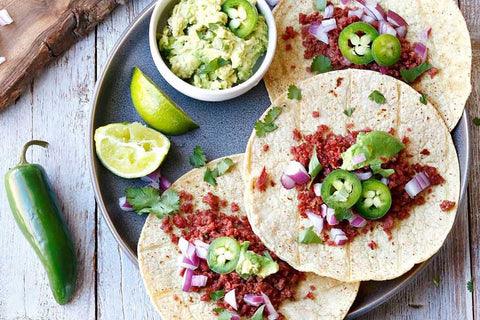 Low Carb Keto Friendly Tacos
