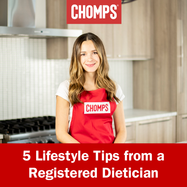 Healthy Lifestyle Tips from a Registered Dietician