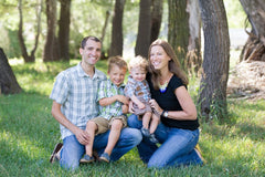 Nourished App Founder Michele Spring & Family