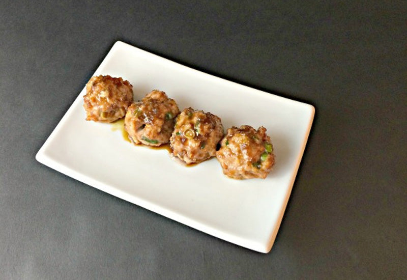AIP Dinner Recipe - Orange Chicken Teriyaki Meatballs