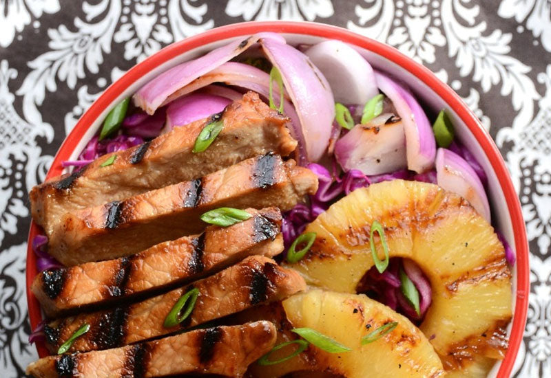 AIP Lunch Recipe - Hawaiian Teriyaki Bowl