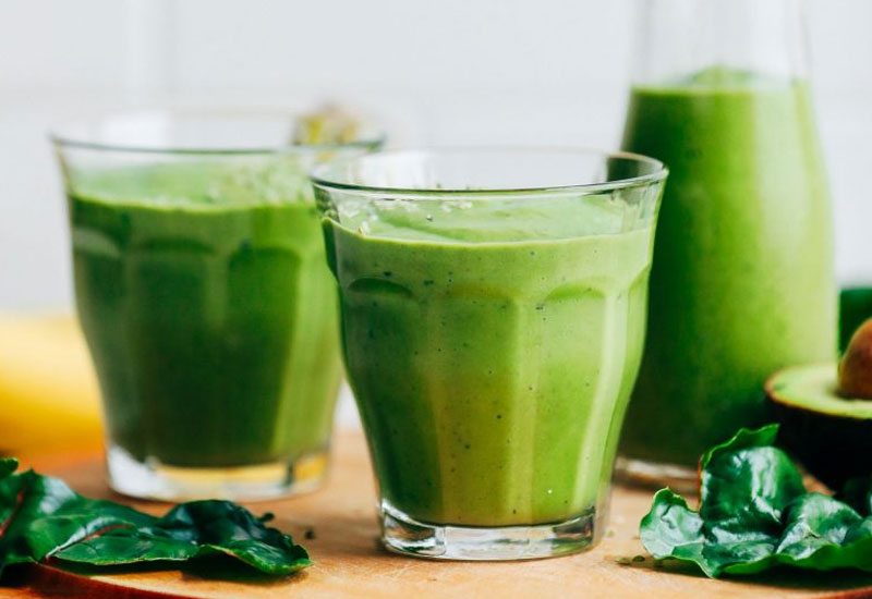 Avocado Banana Green Smoothie Recipe