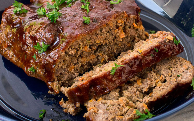 Gluten-Free BBQ Meatloaf and Mashed Potatoes