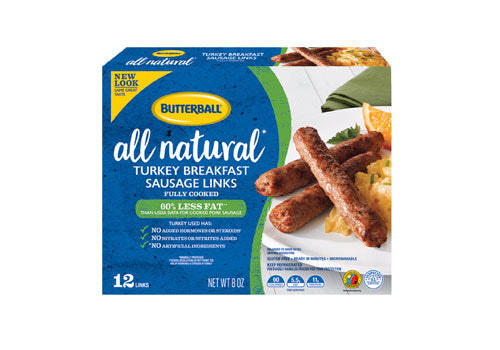 Butterball All Natural Turkey Breakfast Sausage