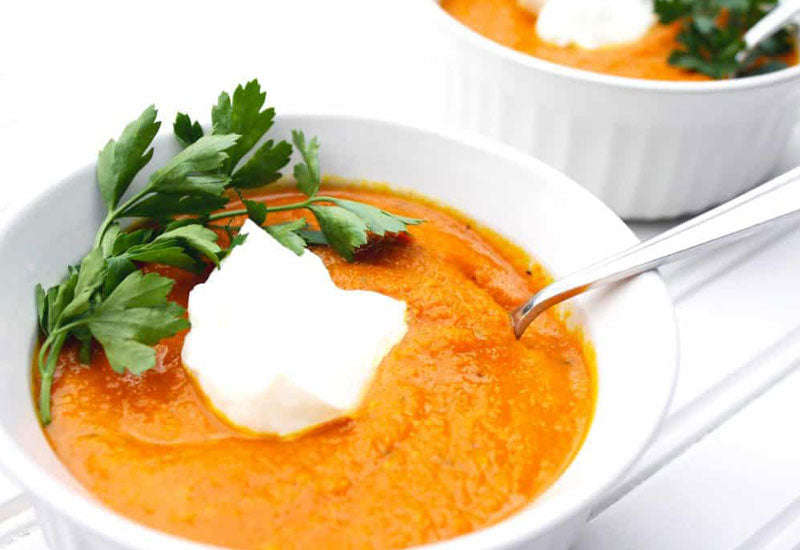 Healing Carrot Turmeric Ginger Soup Recipe