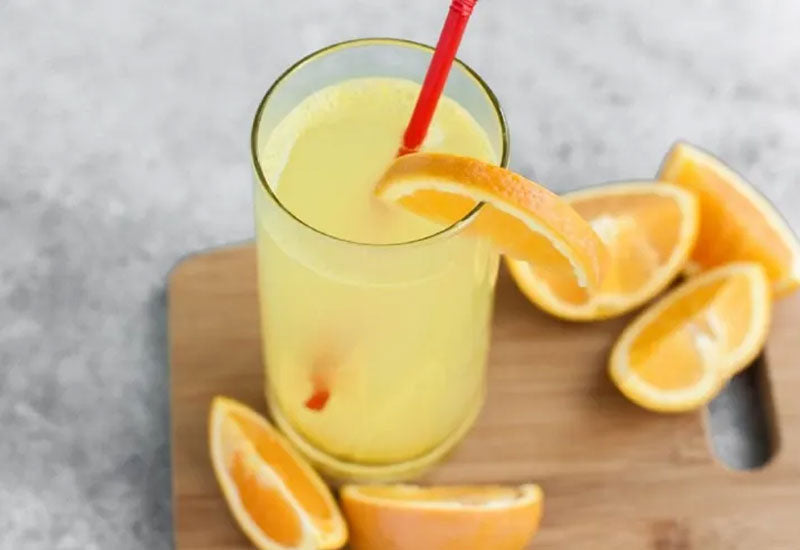 Citrus White Rum Keto Cocktail