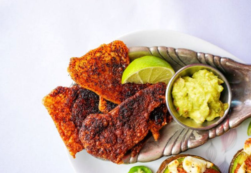 Crispy Baked Chicken Skin-ny Dippers Recipe