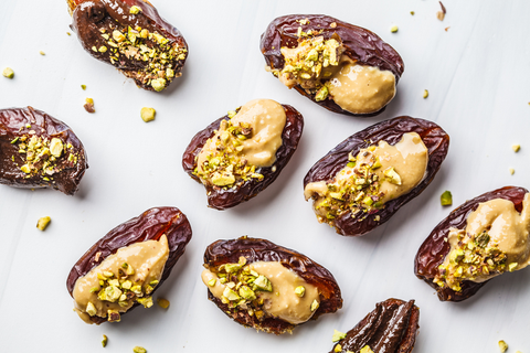 Nut Butter and Chocolate Dates