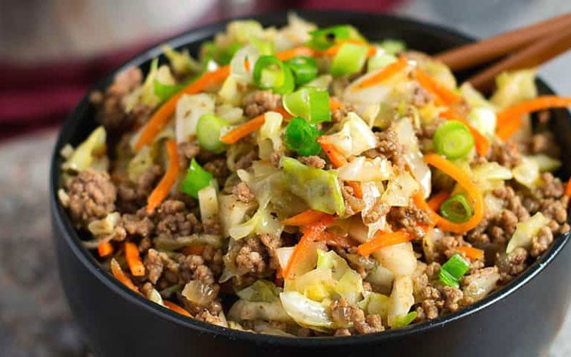 AIP Egg Roll in a Bowl Recipe