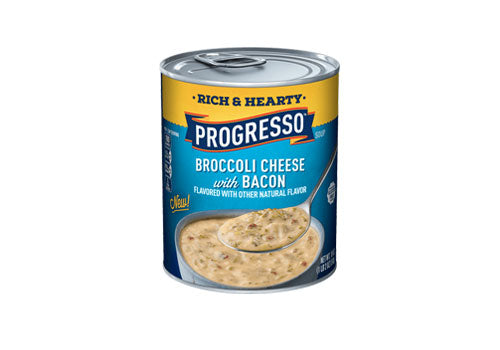 Keto Canned Soup - Broccoli Cheese with Bacon