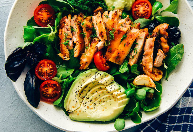 Keto Chicken Salad with Avocado Recipe