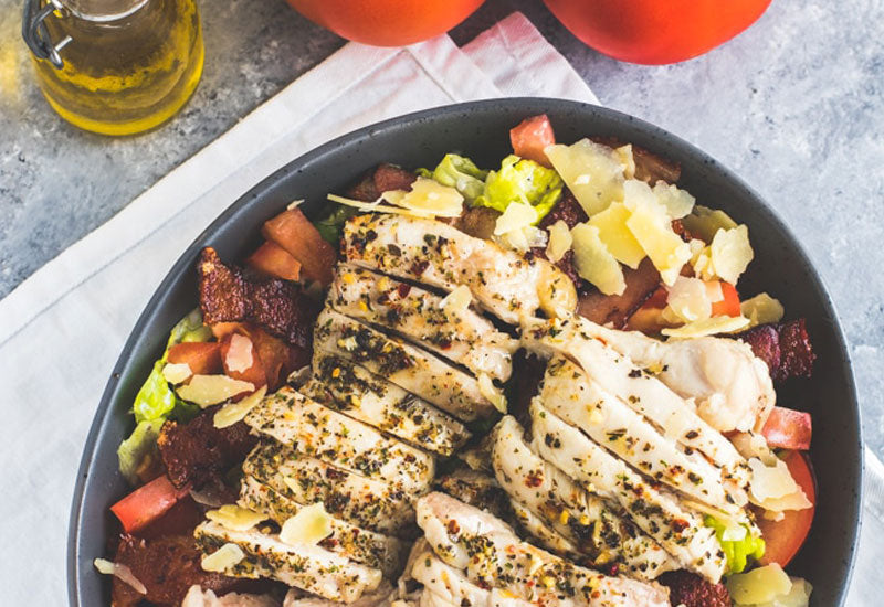 Keto Grilled Chicken Salad Recipe