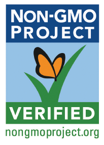 Chomps healthy beef jerky sticks proudly wears the Non-GMO Project Verified label