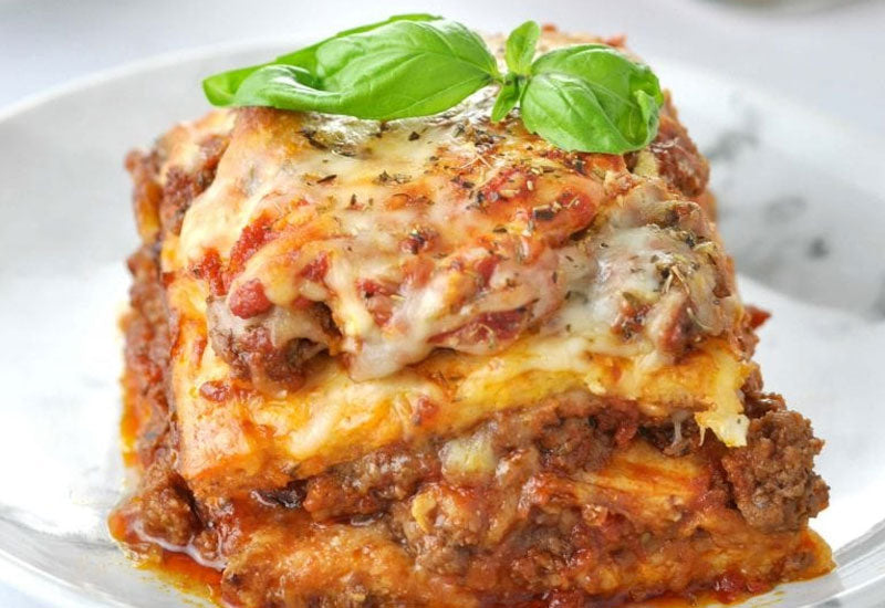 """Just Like The Real Thing"" Low Carb Keto Lasagna Recipe"